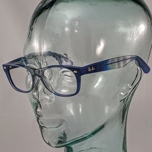 Auth. Ray-Ban blue grey fade glasses